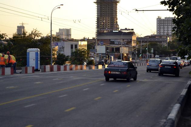 Ремонт дорог в Краснодаре улица Северная