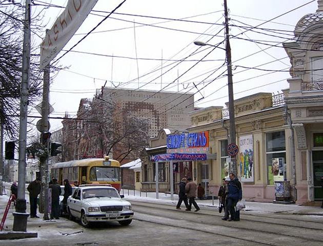 ВКраснодаре трамвай сбил женщину
