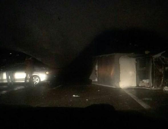 ВНовокубанском районе натрассе столкнулись шесть машин